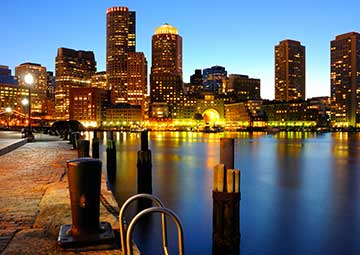 crucero por Boston (EEUU)