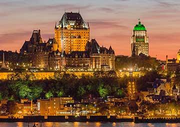 crucero por Quebec (Canadá)