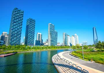 crucero por Incheon (Corea de Sur)