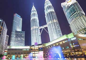 crucero por Kuala Lumpur (Malasia)