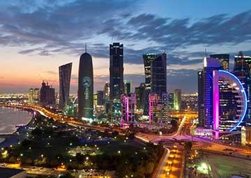 crucero por Doha (Qatar)