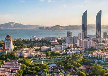 crucero por Xiamen (China)