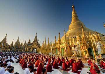 crucero por Yangon (Birmania)