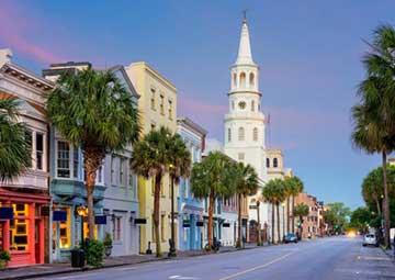 crucero por Charleston, Carolina del Sur (EE.UU.)