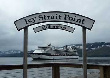 crucero por Icy Strait Point (Alaska)