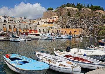crucero por Lipari (Italia)