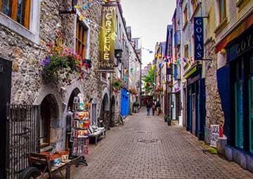 crucero por Galway (Irlanda)