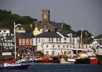 crucero por killybegs (Irlanda)
