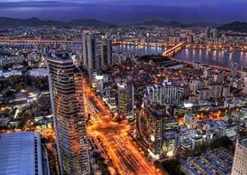 crucero por Seúl (Corea del Sur)