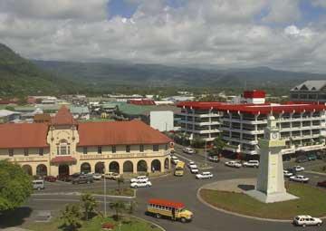 crucero por Apia (West Samoa)