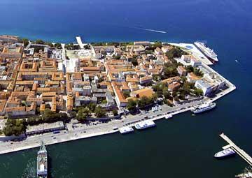 crucero por Zadar (Croacia)