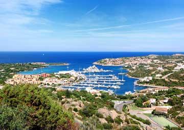 crucero por Porto Cervo, Sardinia