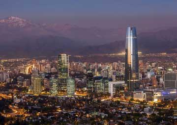 crucero por Santiago de Chile