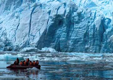 crucero por Glaciar Pio XI, navegación
