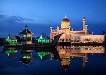 crucero por Bandar Seri Begawan, Brunei