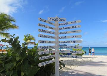 crucero por Princess Cays (Bahamas)