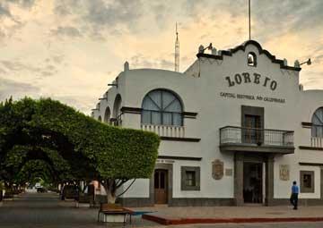 crucero por Loreto (México)