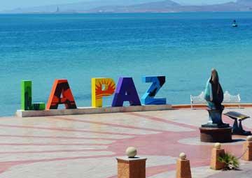 crucero por La Paz (México)
