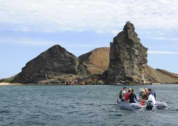crucero por Caleta Tagus (Isabela)