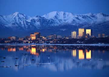 crucero por Anchorage (Alaska)