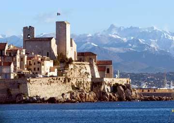 crucero por Antibes (Francia)