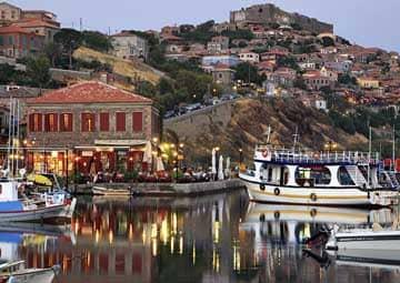 crucero por Mitilini, Grecia