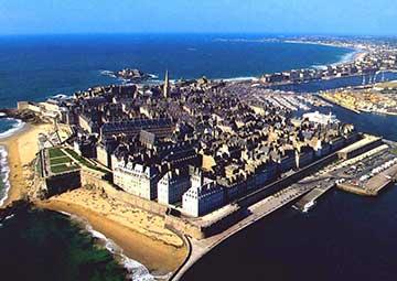 crucero por Saint Malo (Francia)