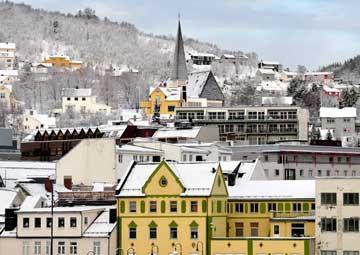 crucero por Harstad (Noruega)