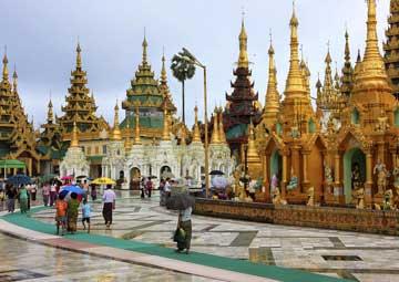 crucero por Rangún (Birmania)