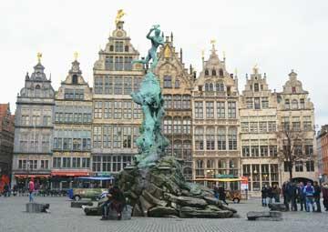 crucero por Amberes (Bélgica)