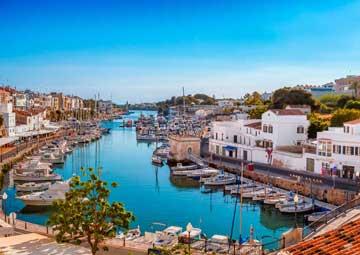 crucero por Menorca