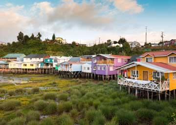 crucero por Castro (Chile)