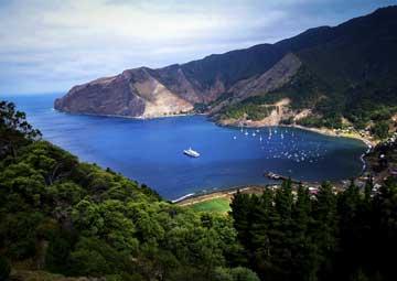 crucero por Isla Robinson Crusoe(Chile)
