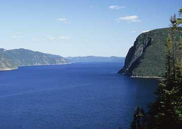 crucero por Saguenay (Canadá)