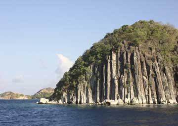 crucero por Terre-de-Haut(Antillas)