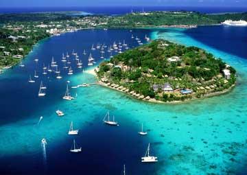 crucero por Port Vila (Vanuatu)