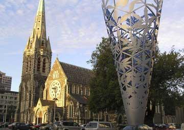crucero por Christchurch (Nueva Zelanda)
