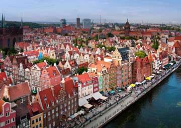 crucero por Gdansk (Polonia)
