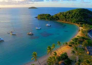 crucero por Mayreau (Islas de Berlovento)