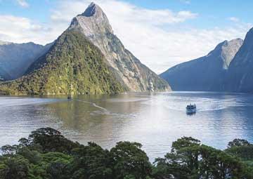 crucero por Milford Sound (Nueva Zelanda)