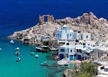crucero por Milos (Grecia)