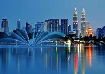 crucero por Puerto Klang, Malasia