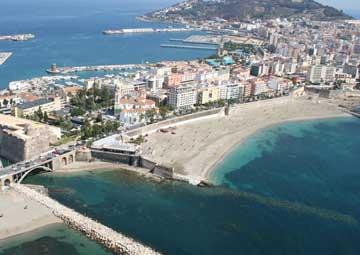 crucero por Ceuta (Marocco)