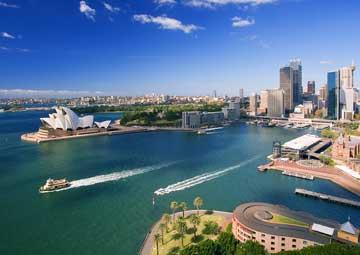 crucero por Sidney ( Australia )