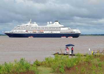 crucero por Boca da Valeria (Brasil)