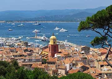 crucero por Saint Tropez