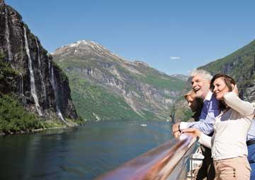 crucero por Crucero panorámico por Sognefjord