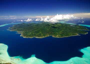 crucero por Tahaa (Polinesia Francesa)