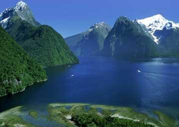 crucero por Doubtful Sound (Nueva Zelanda)