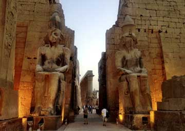 crucero por Luxor (Egipto)